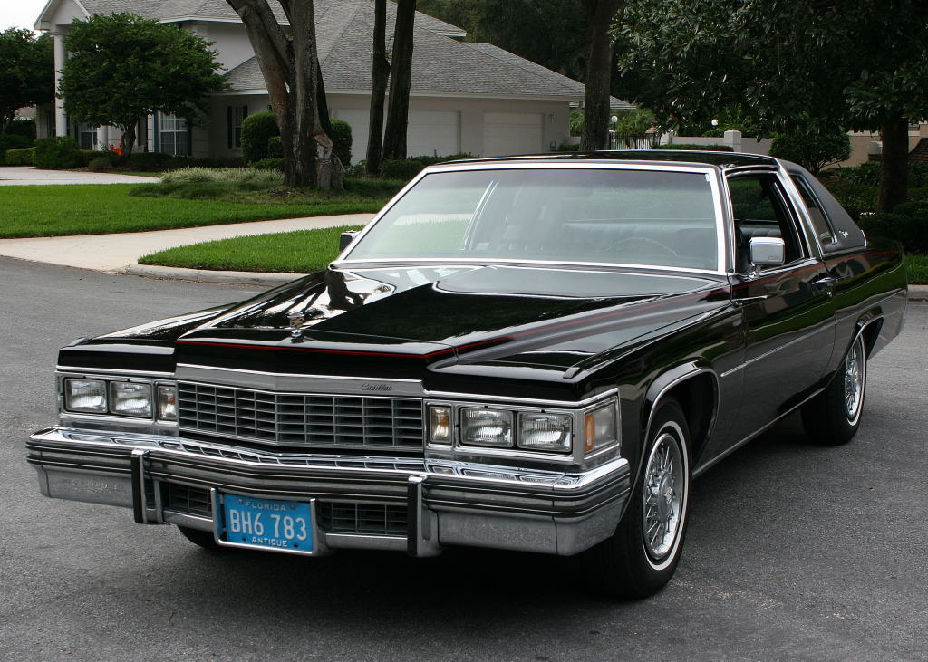Cadillac Coupe Deville on 1982 Cadillac Fleetwood Convertible
