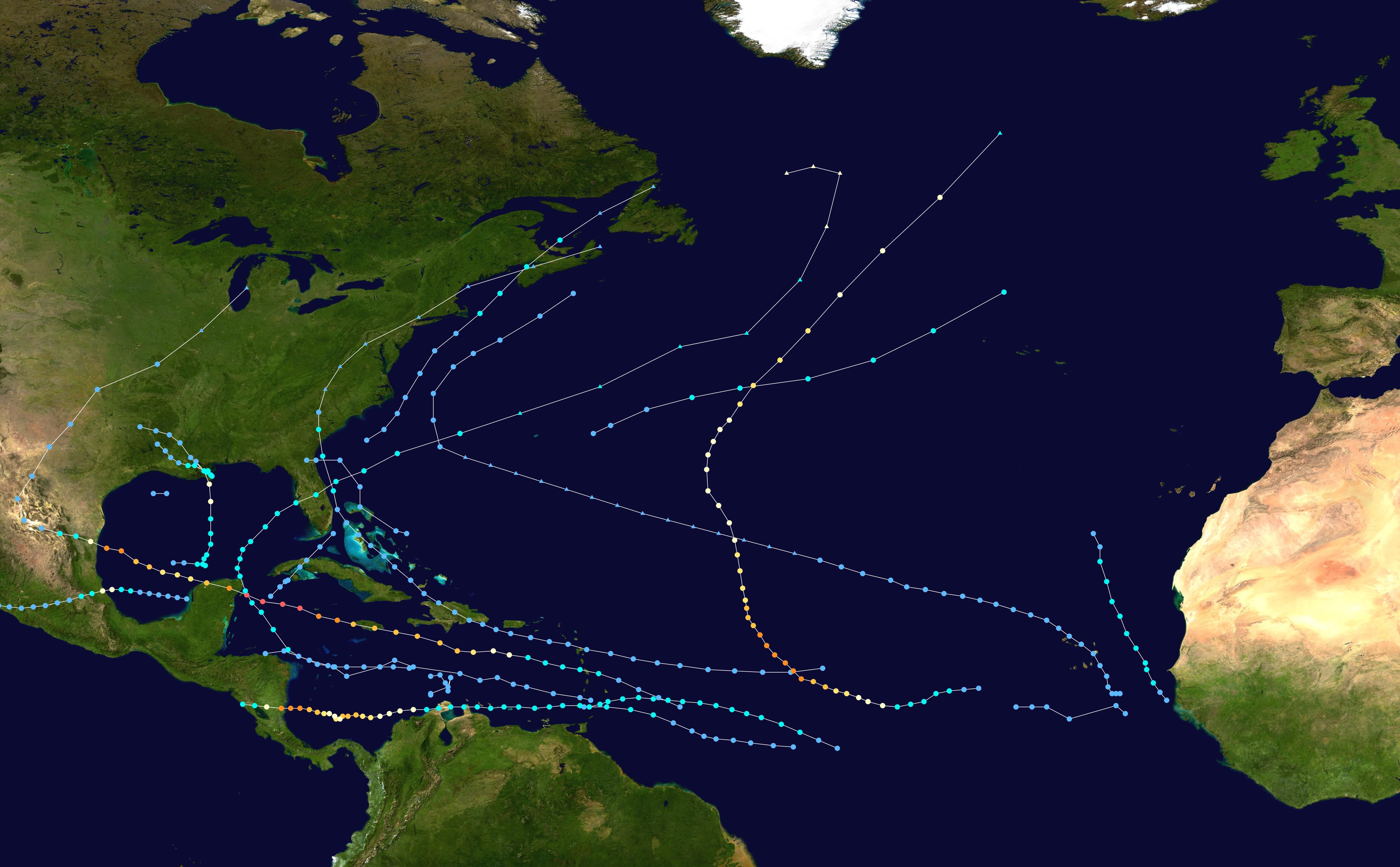 1988 Atlantic hurricane season - Wikipedia