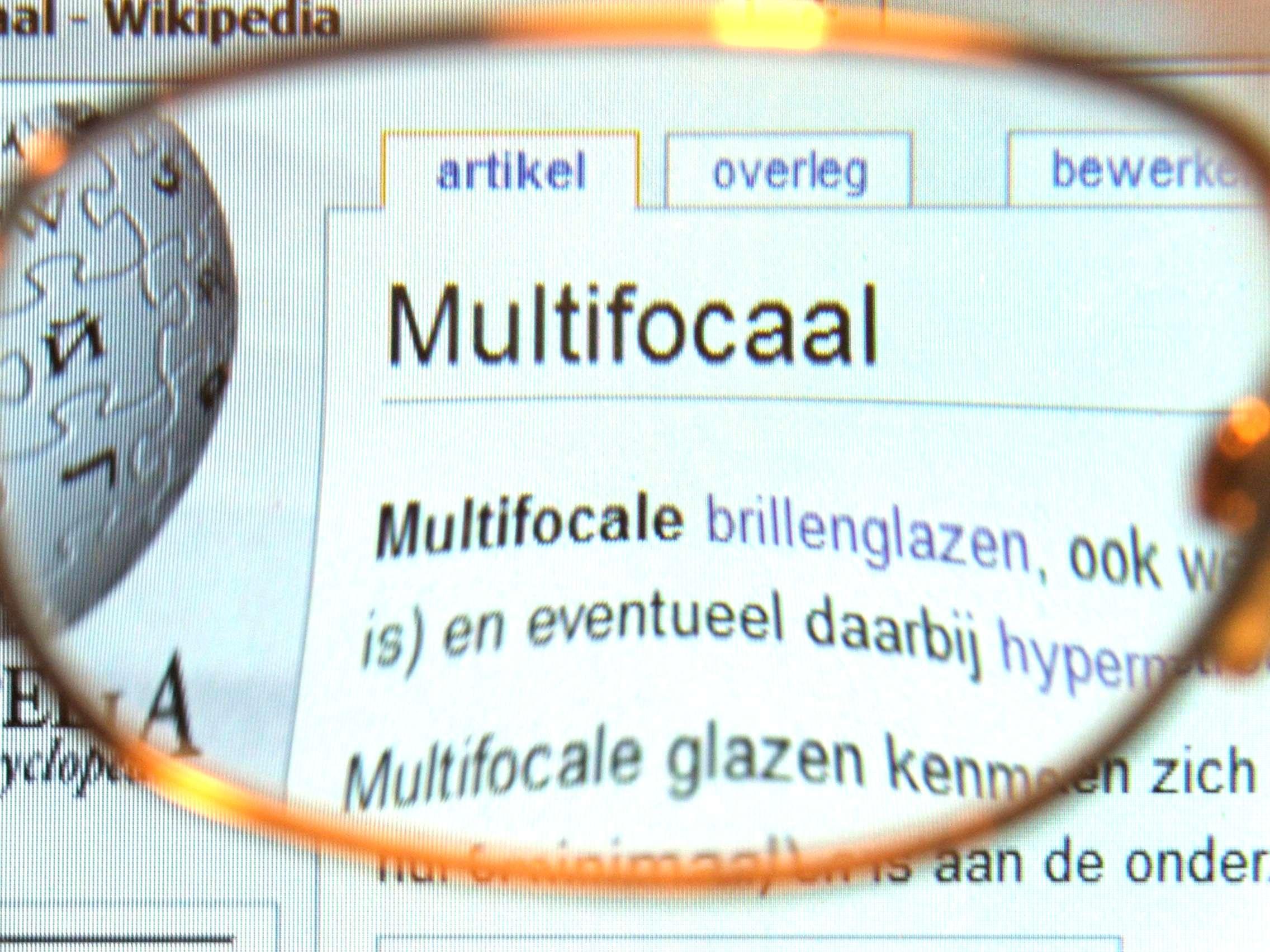 32d99bffd Lente multifocal – Wikipédia, a enciclopédia livre