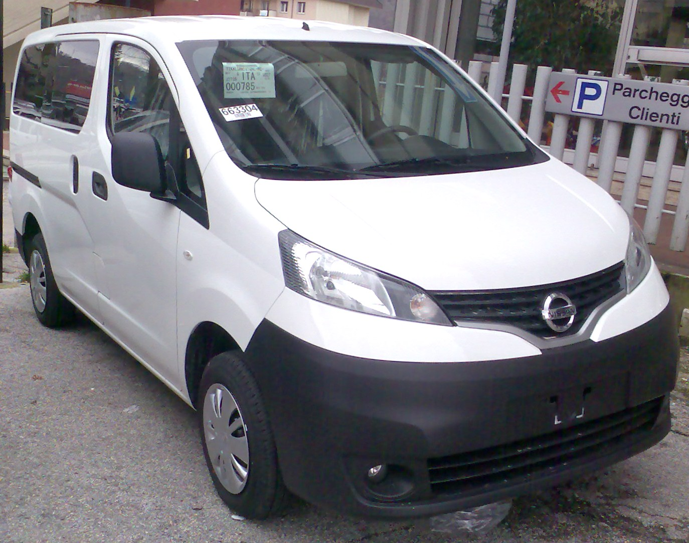 Nissan NV200 Cars