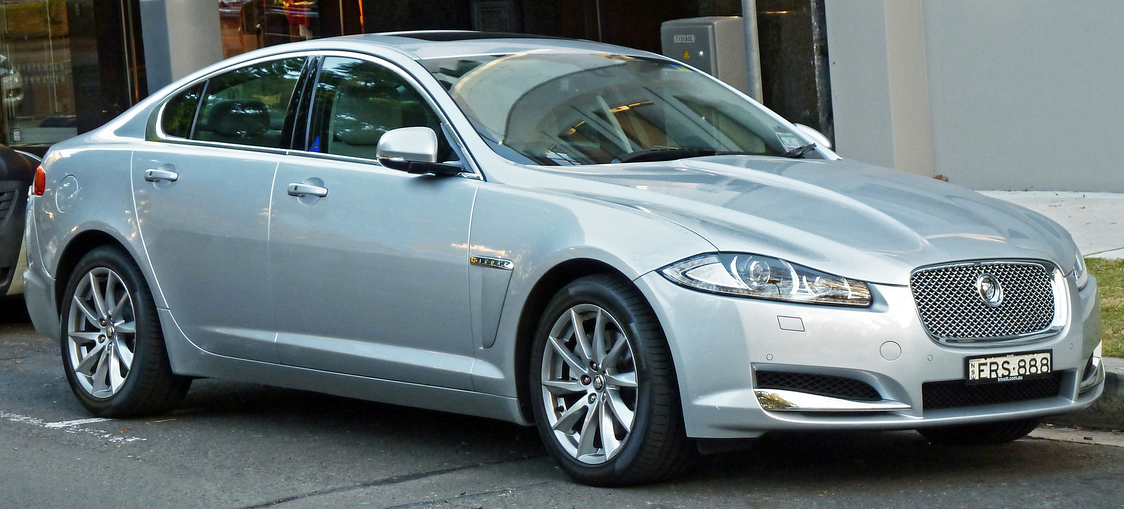 Marvelous File:2011 Jaguar XF (X250 MY11) Sedan (2012 06 04