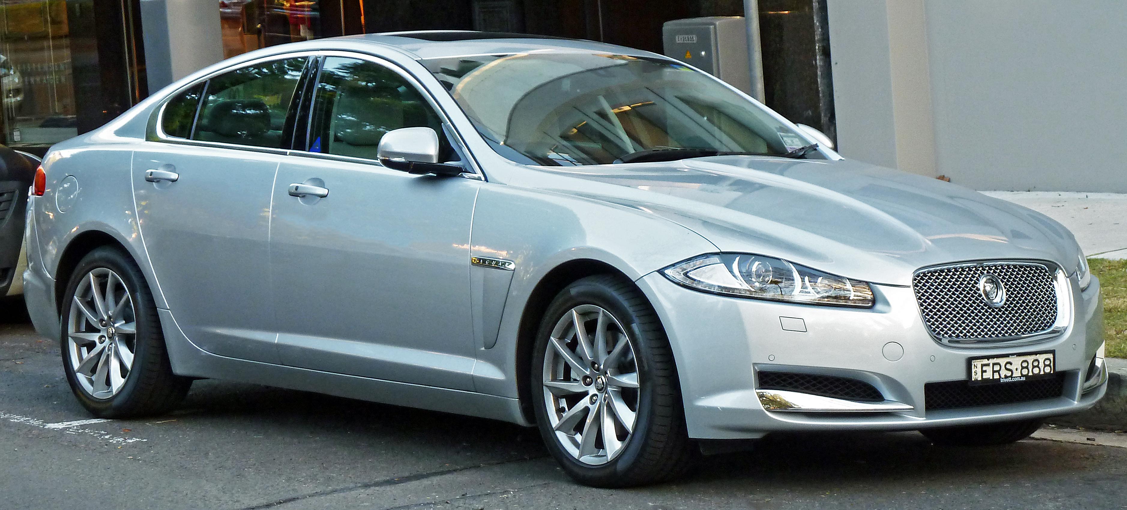 File:2011 Jaguar XF (X250 MY11) sedan (2012-06-04).jpg