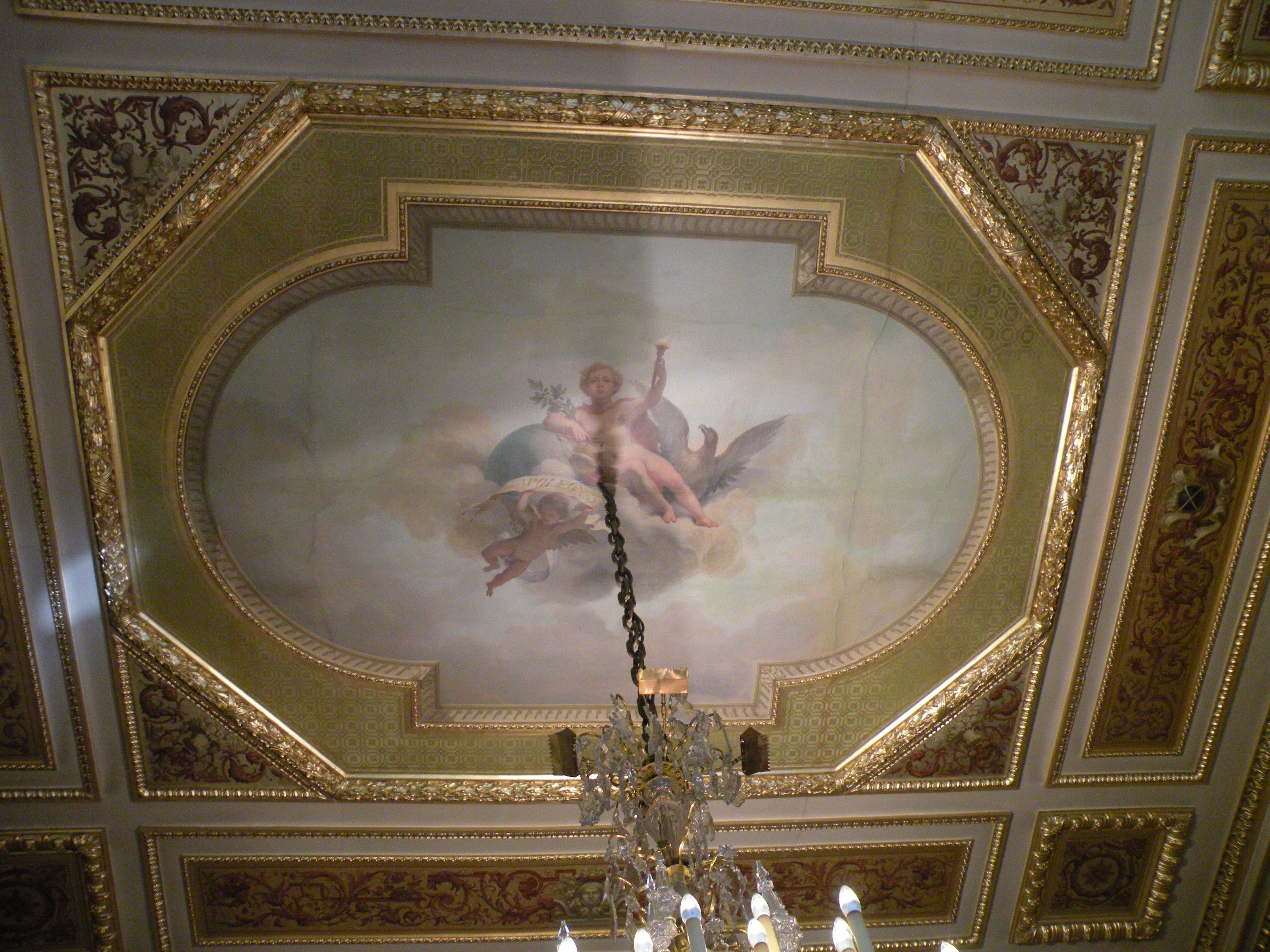 File 37 quai d 39 orsay plafond salon des Plafond salon