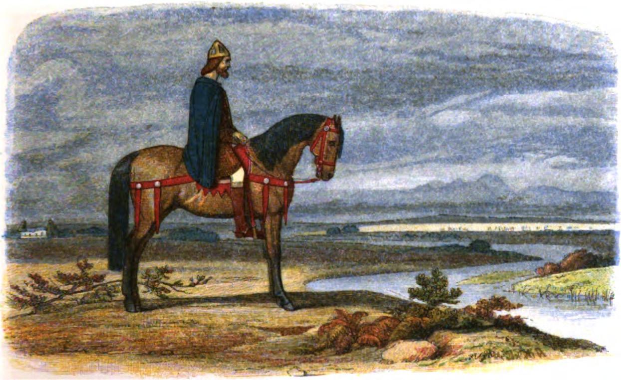 ডেনিশ বহর ধরার পরিকল্পনায় আলফ্র্যাড।