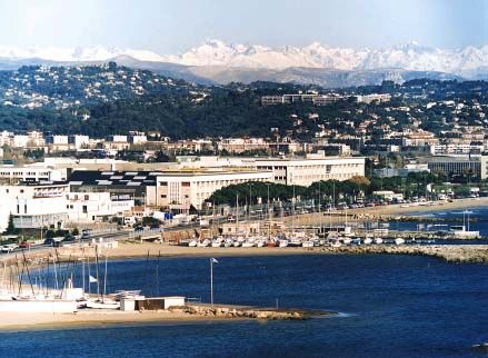 The Headquarters of Thales Alenia Space in the seashore building of the Cannes Mandelieu Space Center