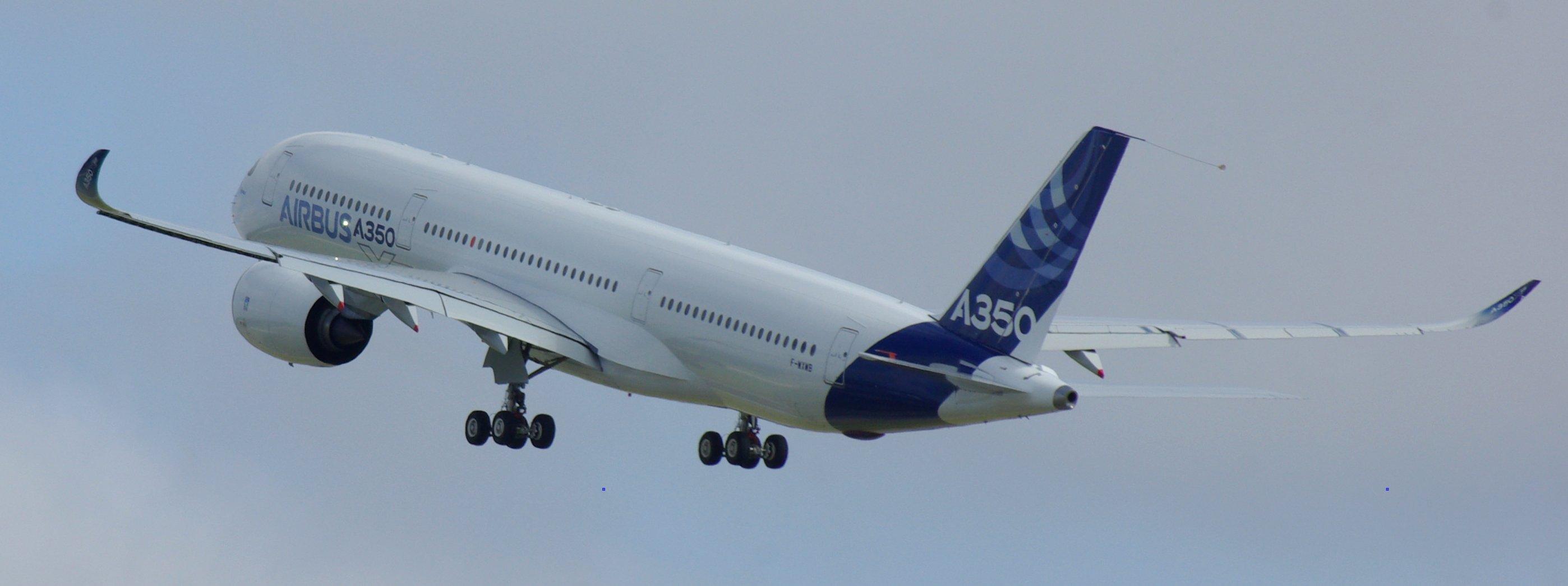 File:Airbus A350-900 Maiden Flight (Take-off) 1.JPG ...