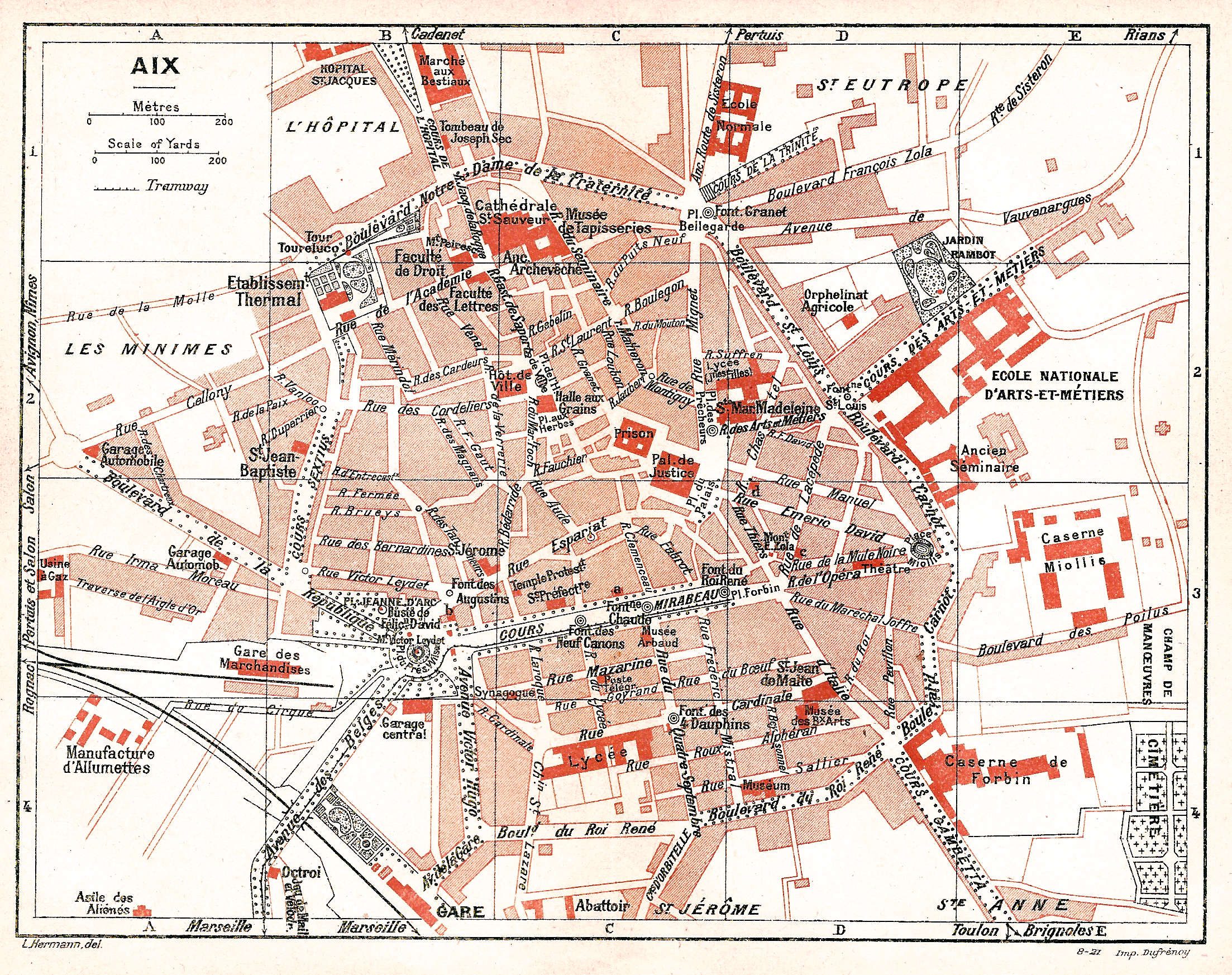 Plan Aix En Provence Ville