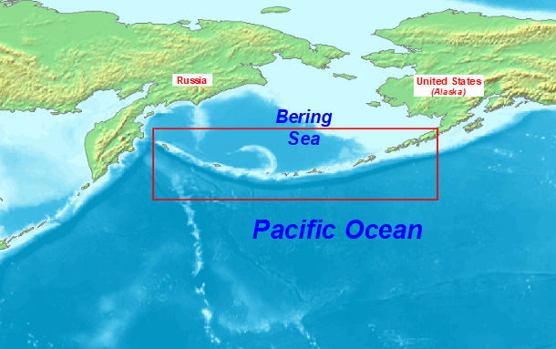 Us And Canada Map Aleutian Island Aleutian Islands   Wikipedia