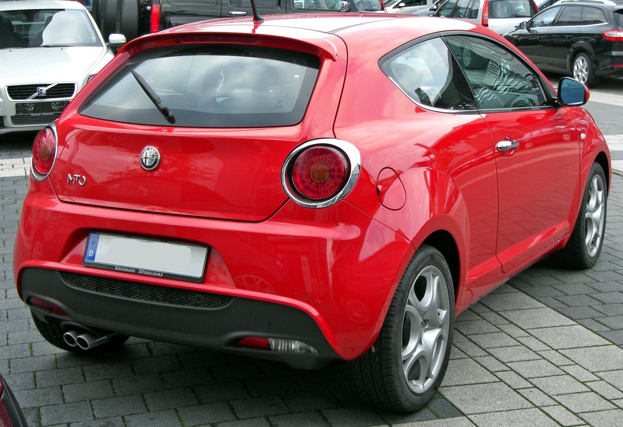 file alfa romeo mito 1 4 tb rear jpg wikimedia commons. Black Bedroom Furniture Sets. Home Design Ideas