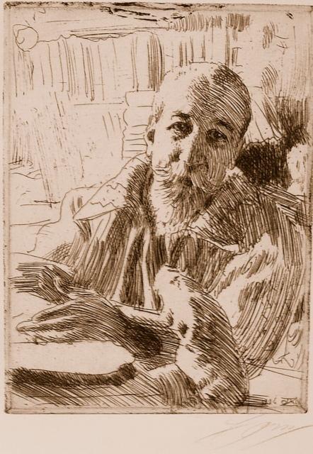 Anatole France, Literaturnobelpreisträger 1921