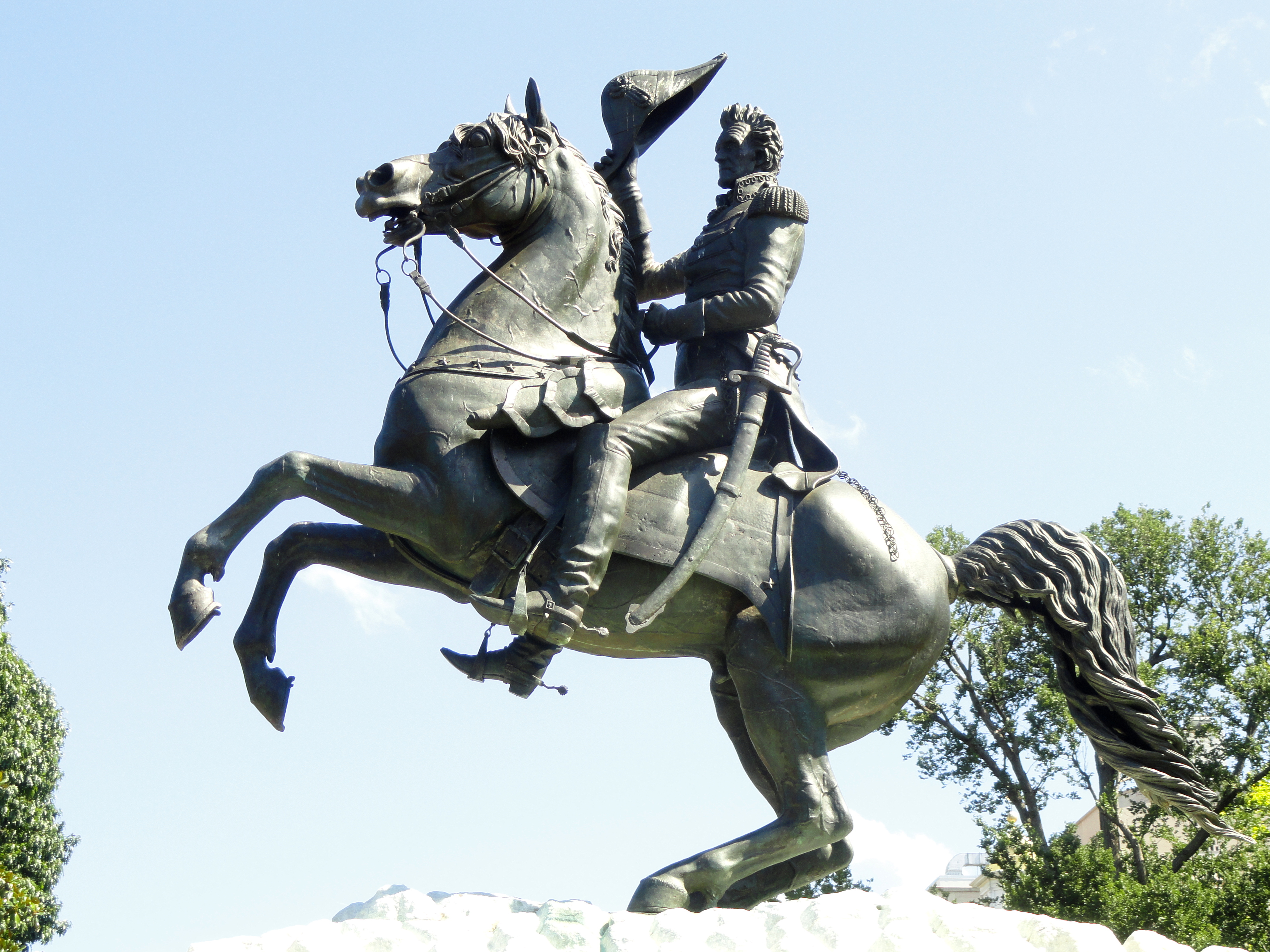 File:Andrew Jackson sculpture (Lafayette Square) - DSC01026.JPG ...