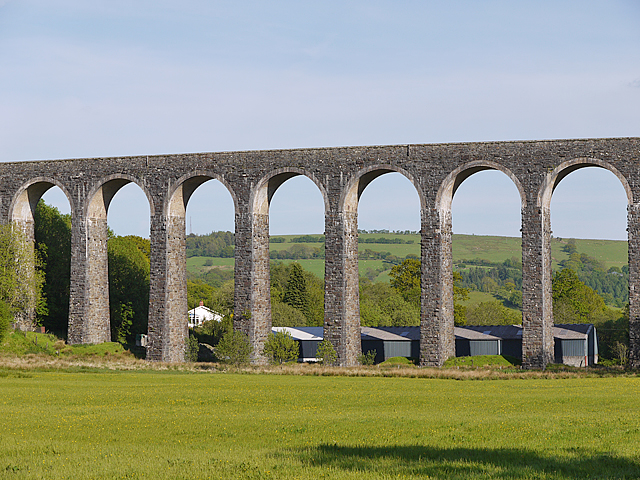 Arches of Cynghordy viaduct (geograph 3497225)