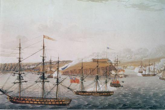 Attack on Fort Oswego (May 1914), War of 1812.jpg