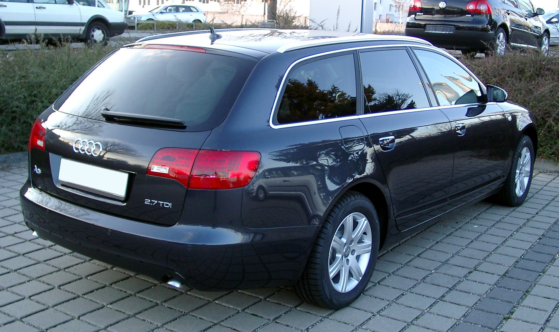 Datoteka Audi A6 C6 Kombi Rear 20071215 Jpg Wikipedia