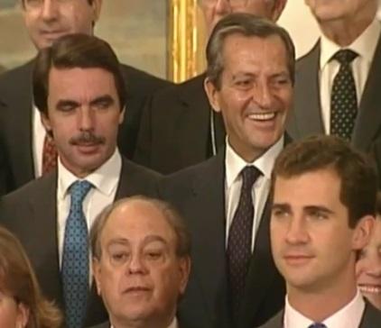 Aznar, Su%C3%A1rez, Pujol, Felipe de Borb%C3%B3n 1995.jpg