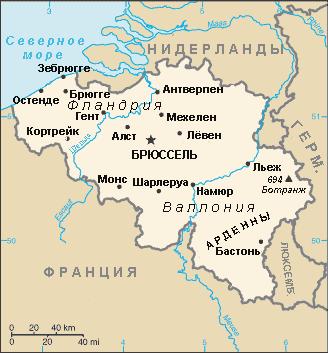 История Бельгии Be-map-ru