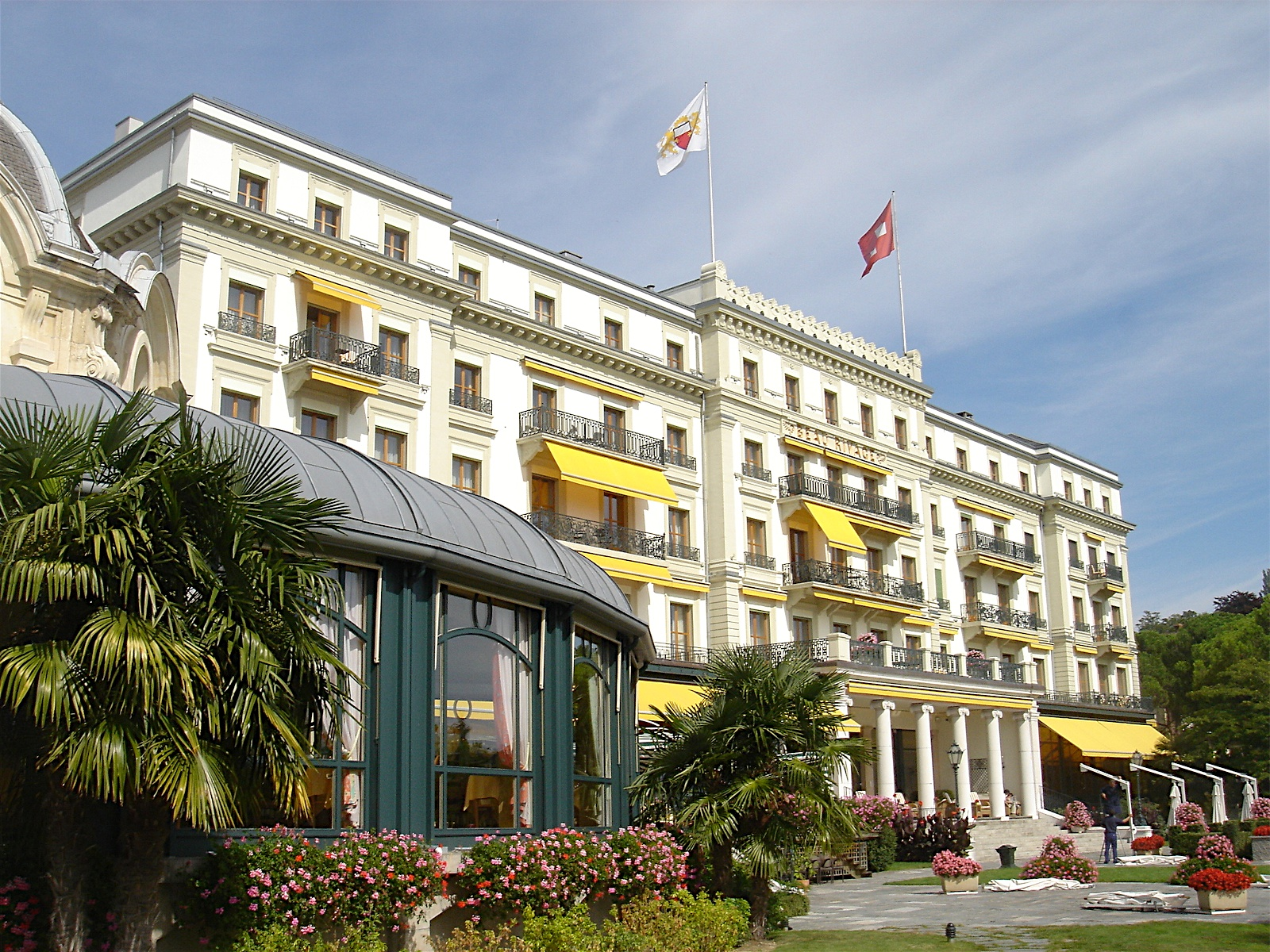 Beau Rivage Palace Hotel Lausanne Switzerland