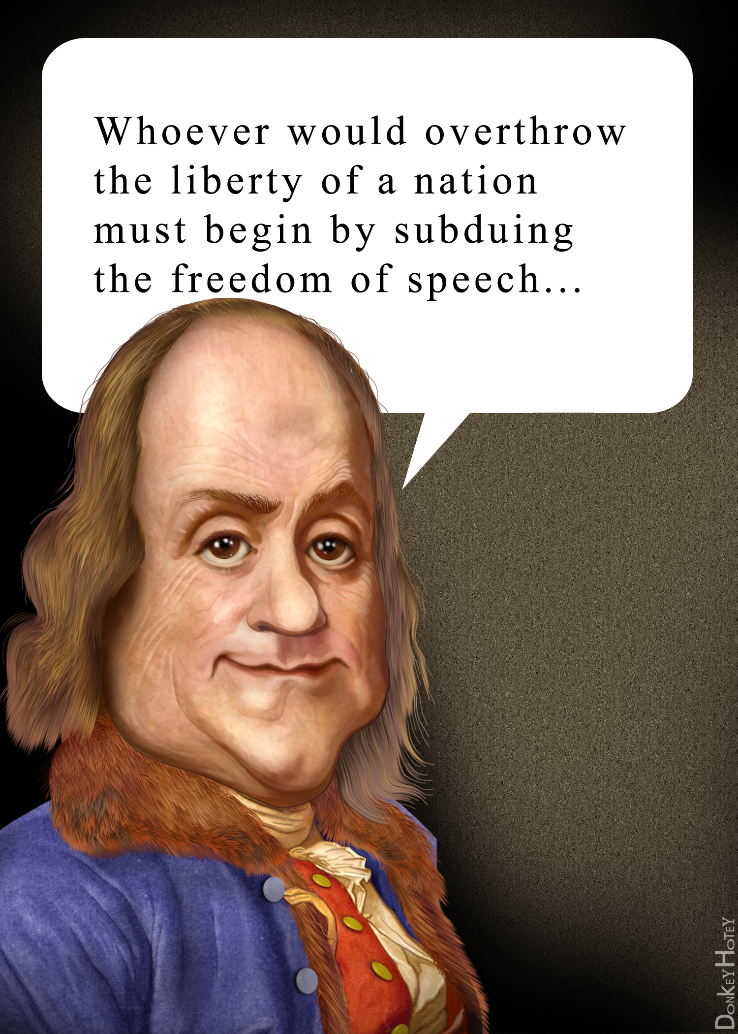 Freedom Of Speech Quotes Filebenjamin Franklin Freedom Of Speech Quote  Wikimedia Commons