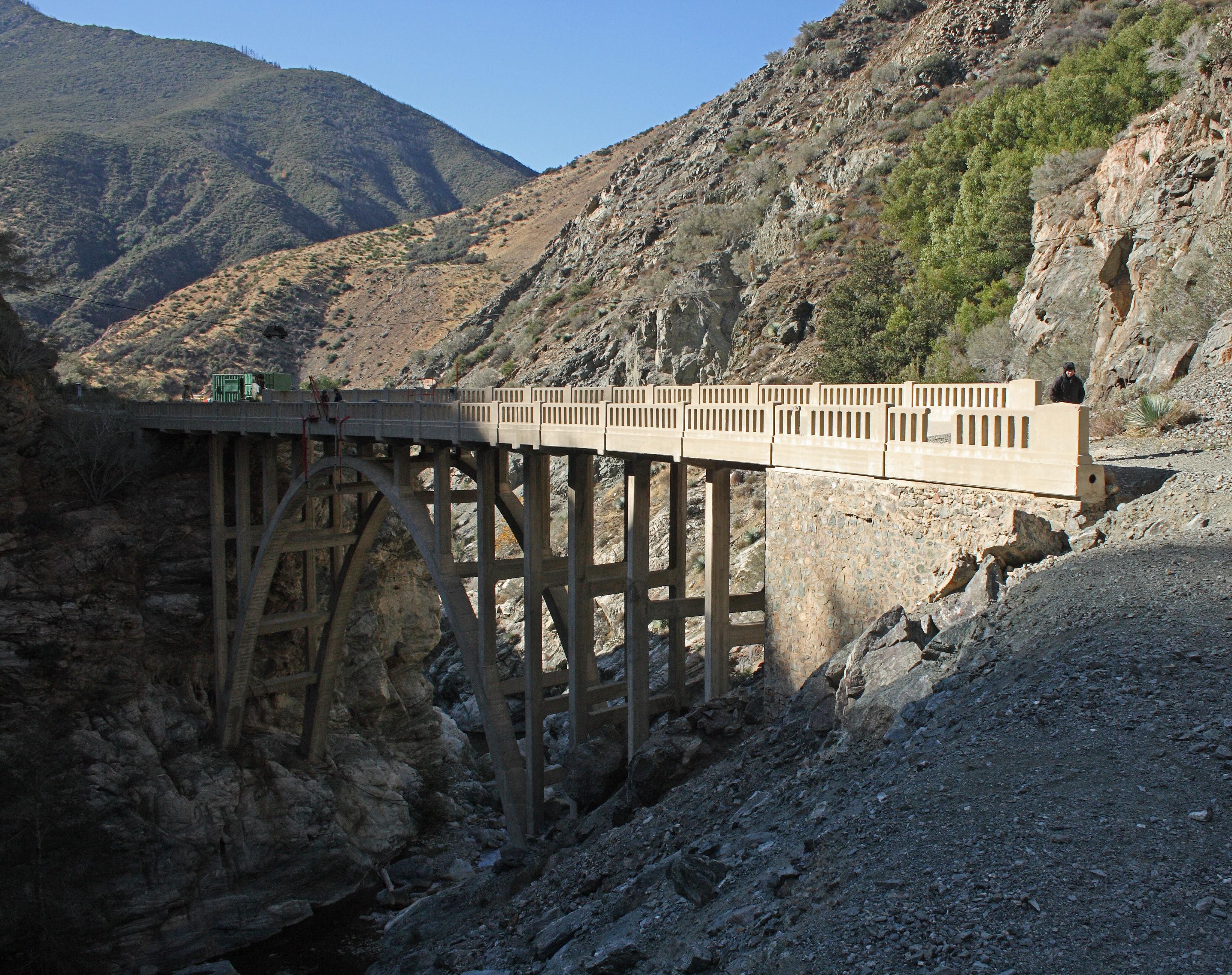 18 Bridge to Nowhere San Gabriel Mountains   Wikipedia