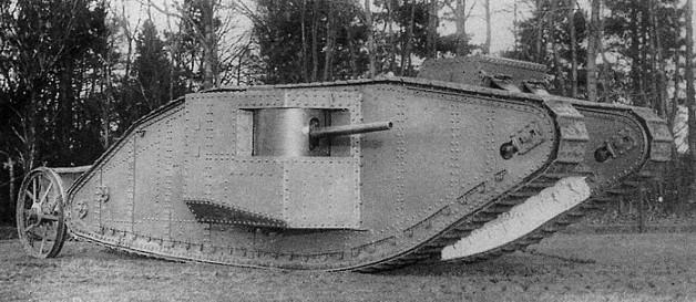 File:British Mark I Tank.jpg