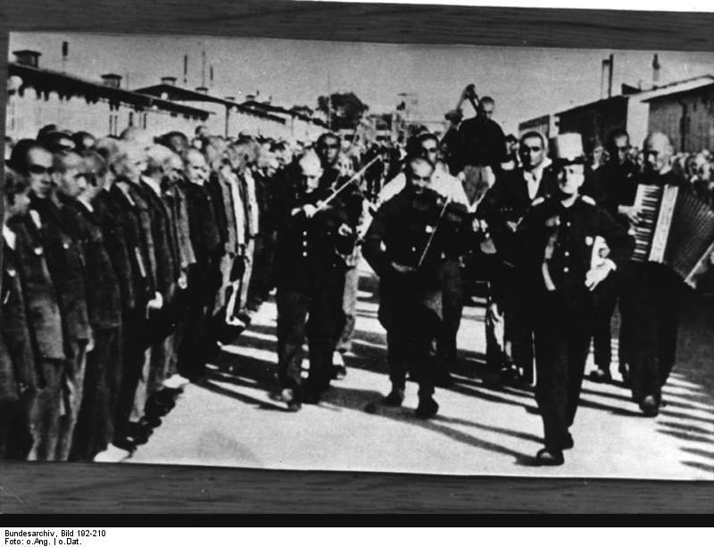 Bundesarchiv Bild 192-210, KZ Mauthausen, Hinrichtung Bonarewitz