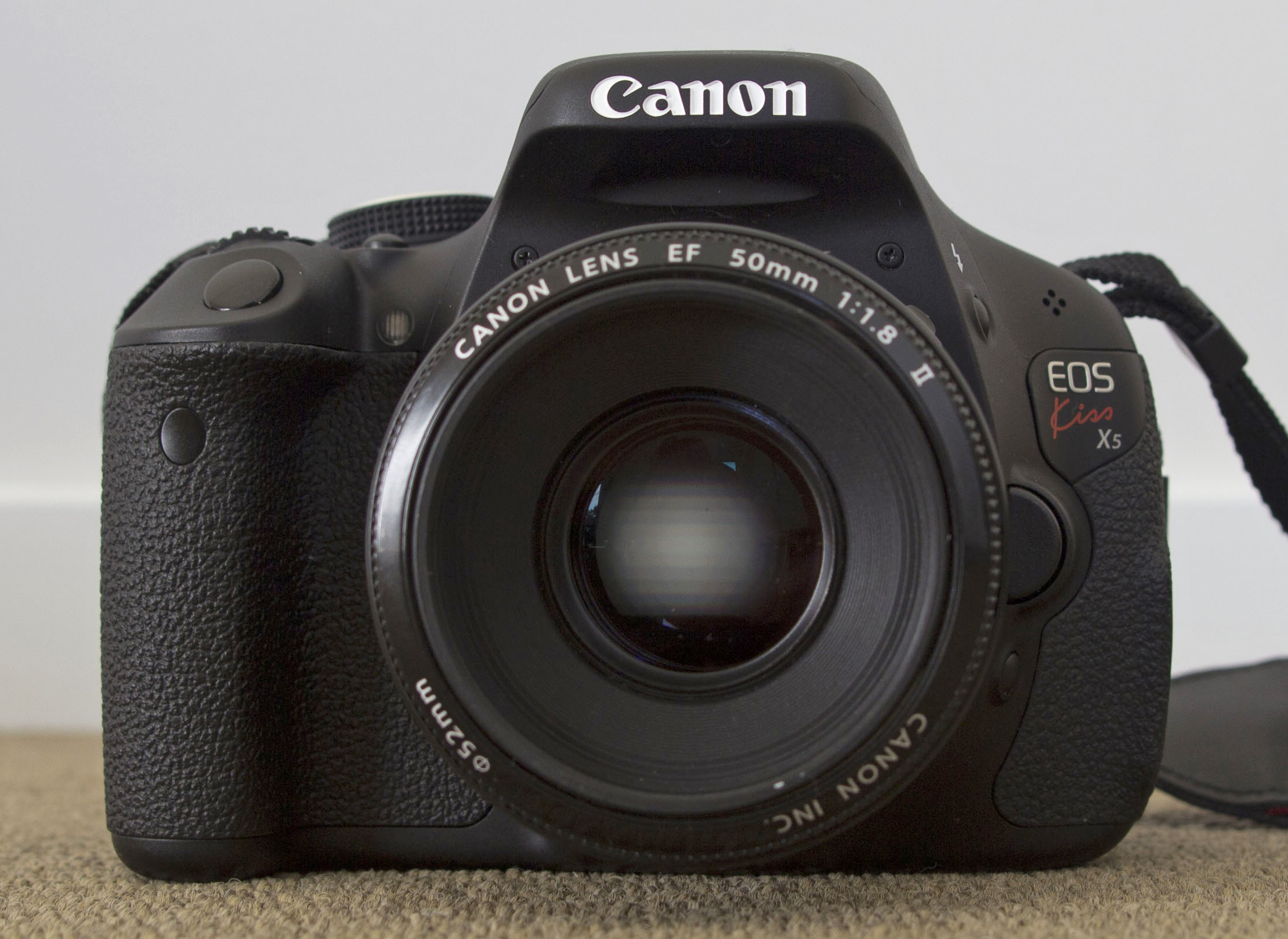 File canon eos 600d with canon ef 50mm f1 for Housse canon eos 600d