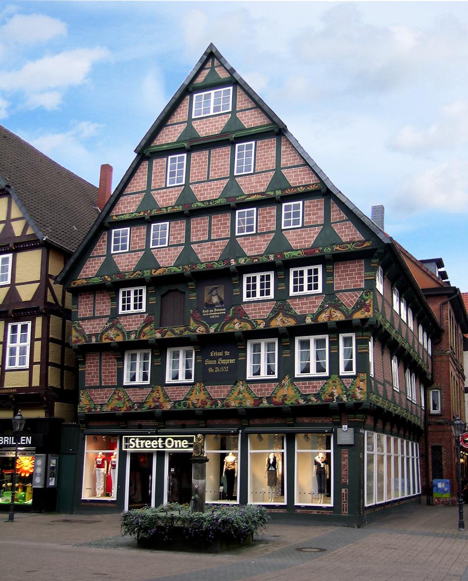 Celle Germany  city pictures gallery : Description Celle Hoppener Haus