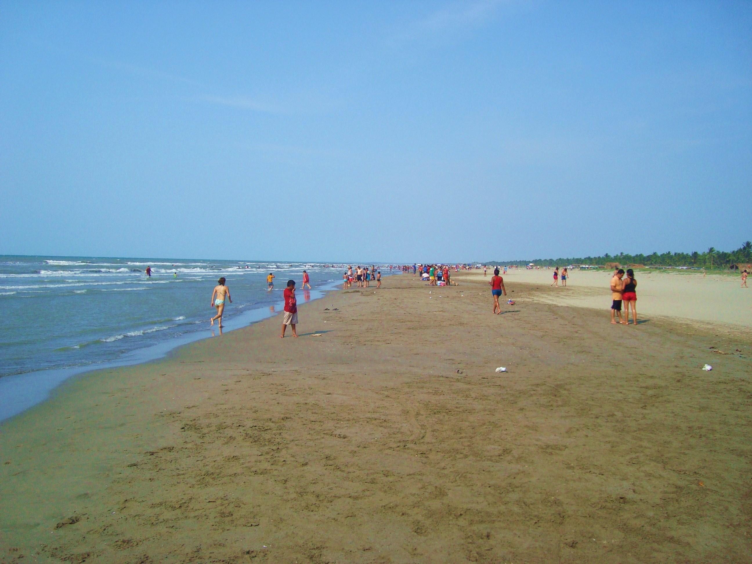 Miramar es de las playas de Tabasco más grandes.