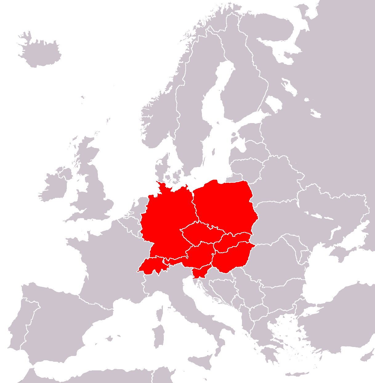 Central Europe - Wikipedia