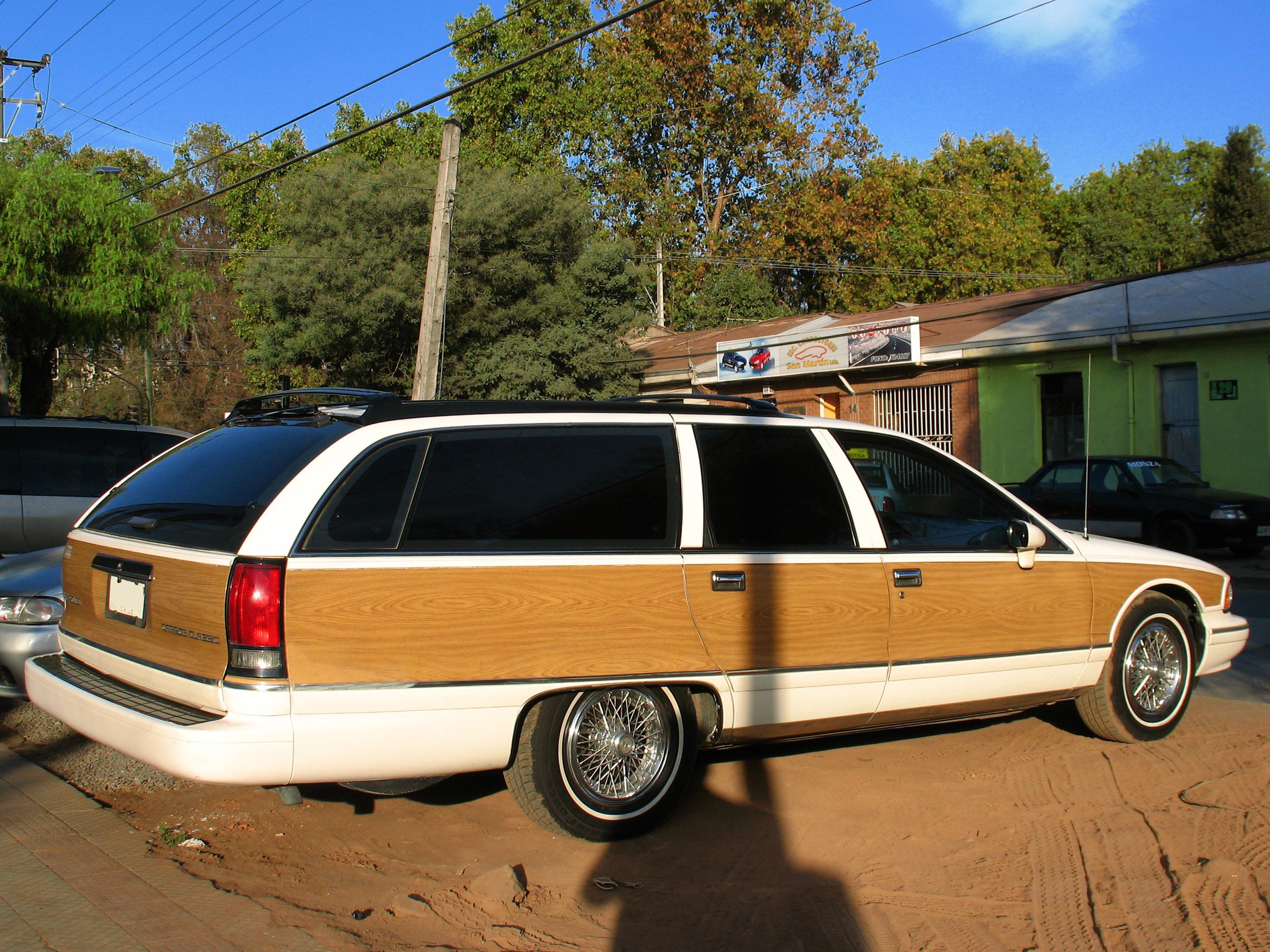 File Chevrolet Caprice Classic Estate Wagon 1993 10701536996 Jpg Wikimedia Commons