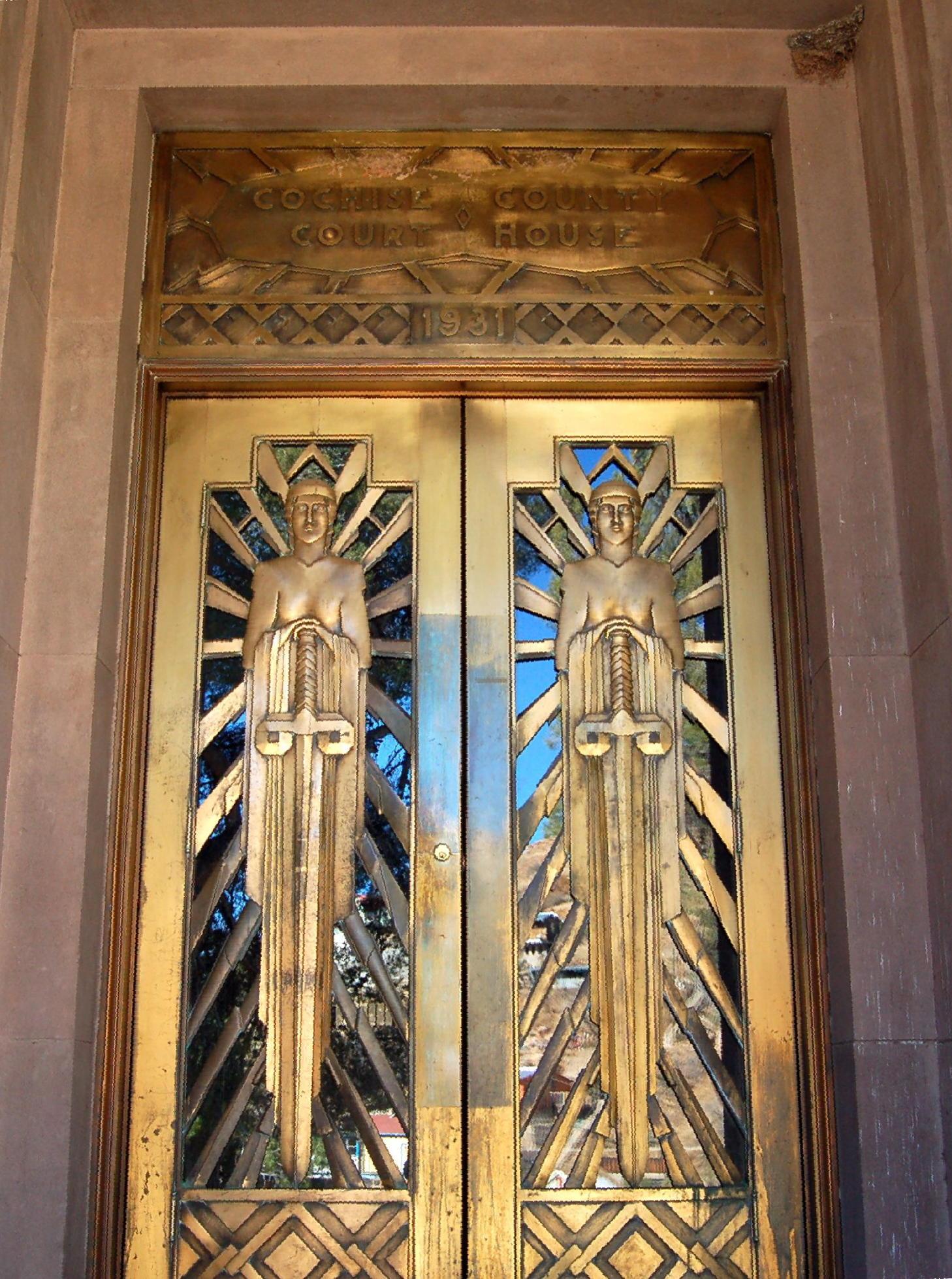 FileCochise County Courthouse Bisbee Arizona ArtDecoDoors.jpg & File:Cochise County Courthouse Bisbee Arizona ArtDecoDoors.jpg ...