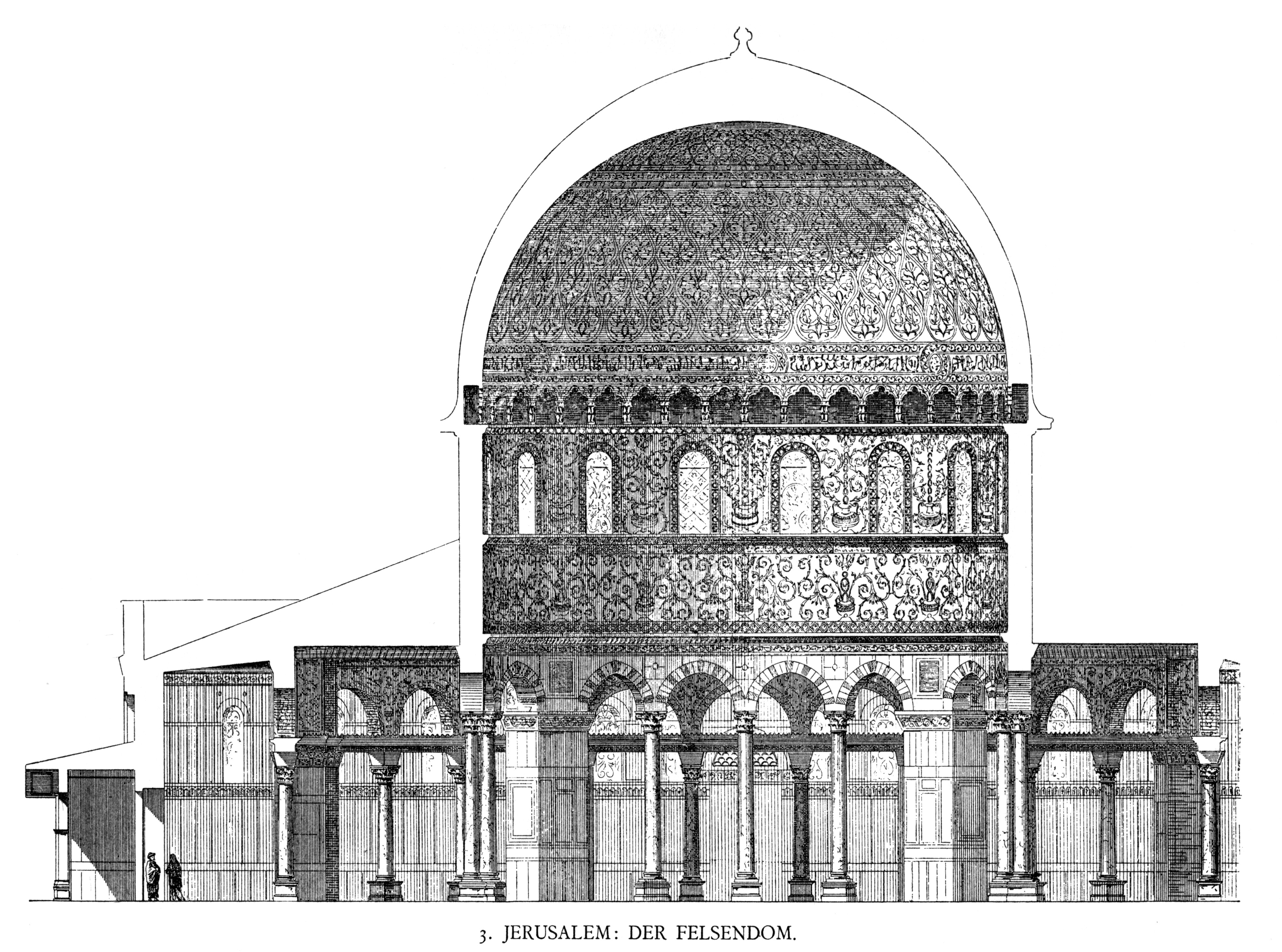 File dehio 10 dome of the rock wikimedia commons for Architecture islamique moderne