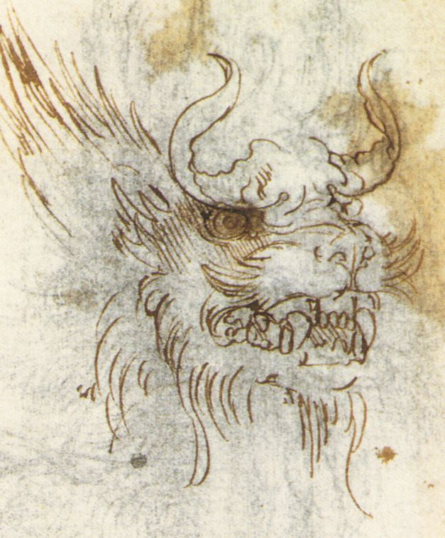 Dragon de Leonardo Da Vinci