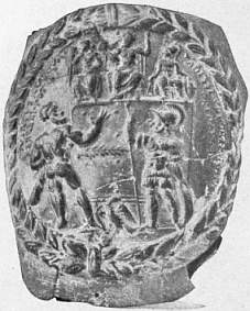 EB1911 Ceramics Fig. 67.—MEDALLION FROM VASE MADE IN S. FRANCE.jpg