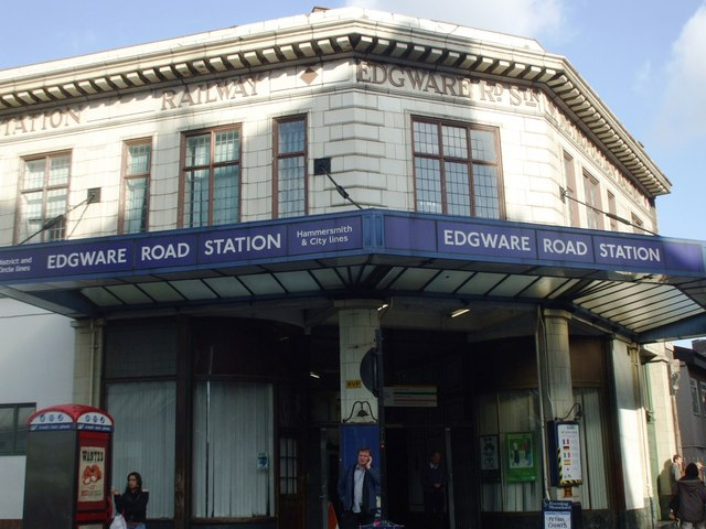 Edgware Road station II, NW1 - geograph.org.uk - 1025146