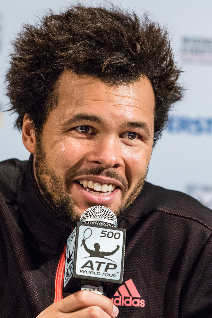 The 33-year old son of father Didier Tsonga and mother Évelyne Tsonga Jo-Wilfried Tsonga in 2018 photo. Jo-Wilfried Tsonga earned a  million dollar salary - leaving the net worth at 10 million in 2018