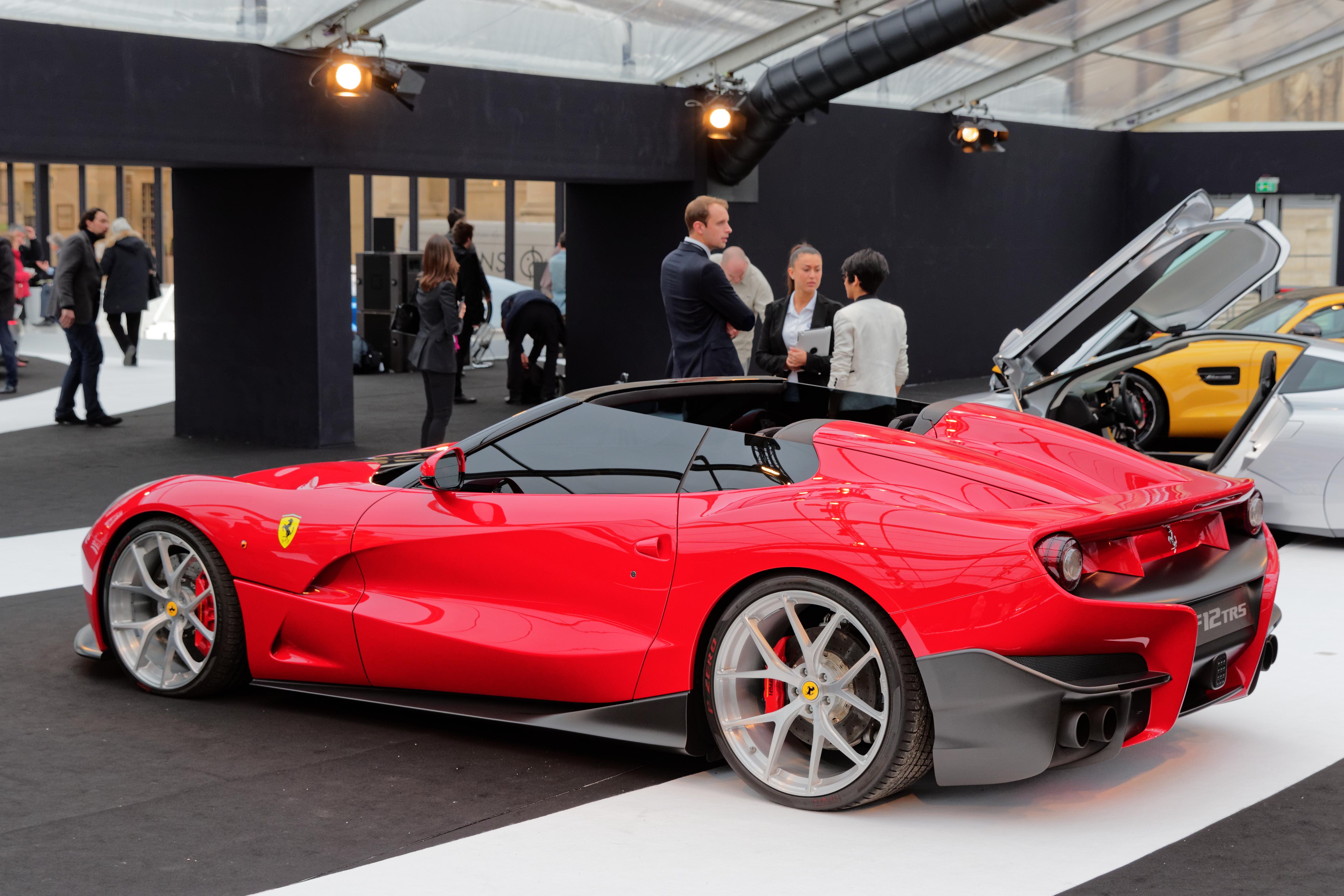 File Festival Automobile International 2015 Ferrari F12 Trs 002 Jpg Wikimedia Commons