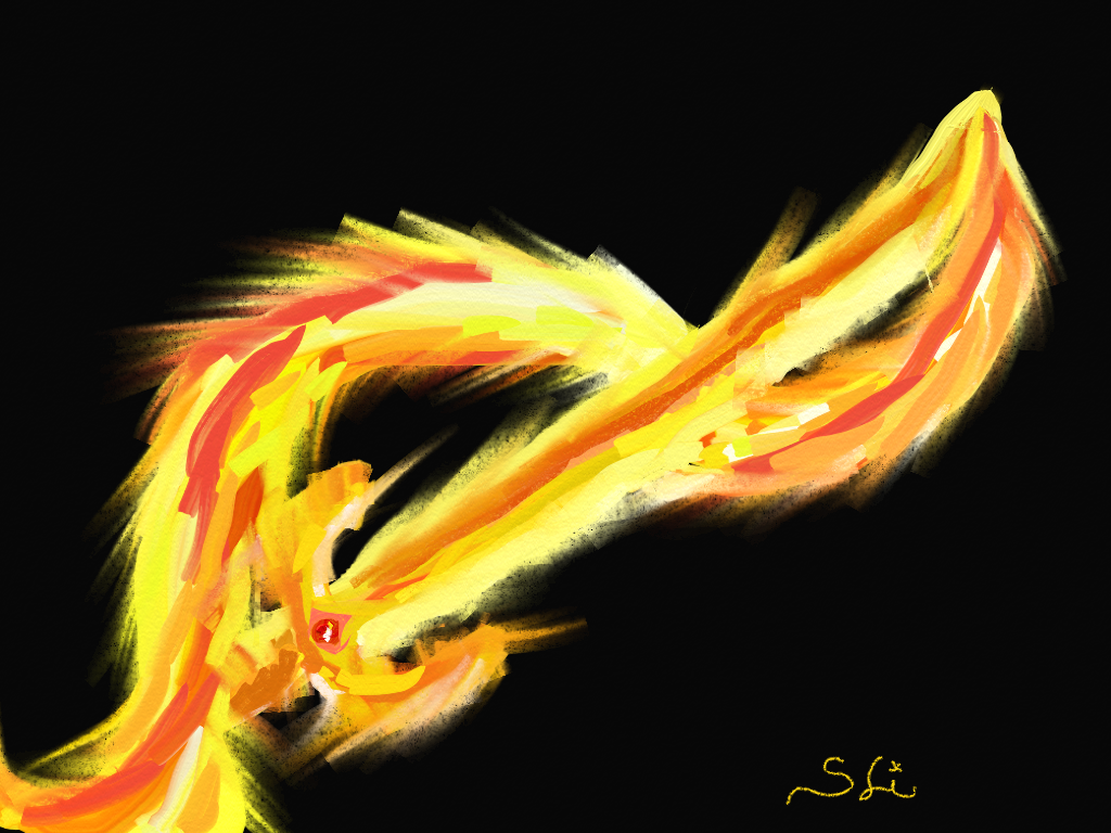 fire sword canvas