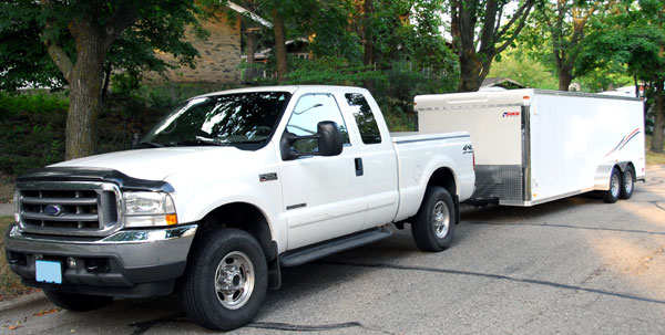 Ford F-250 Long Trailer