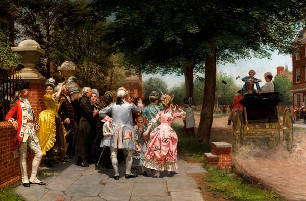 Frederick James A Colonial Wedding