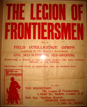 Rare, Legion Of Frontiersmen Street Recruiting...
