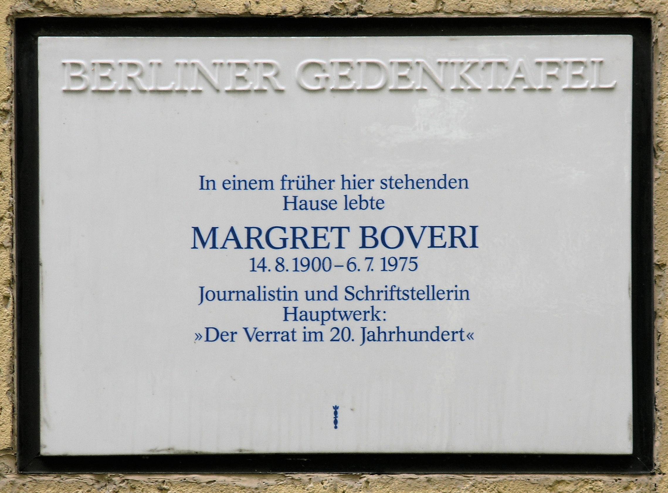 Margret Boveri