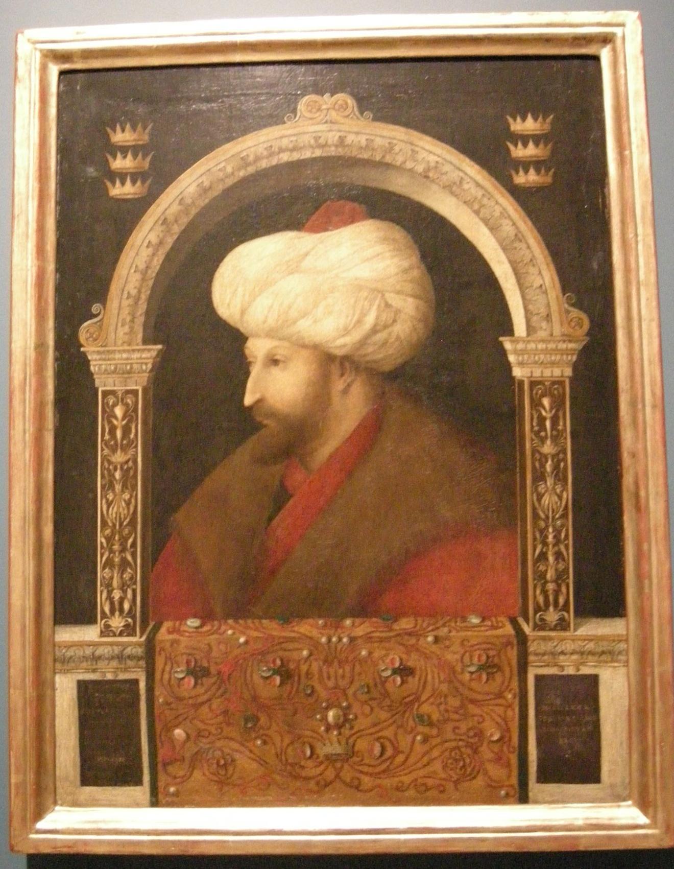 File Gentile Bellini Ritratto Di Mehmet Ii Jpg