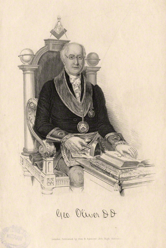 George Oliver (freemason) - Wikipedia