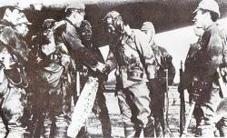 Giretsu unit and Captain Okuyama Michio