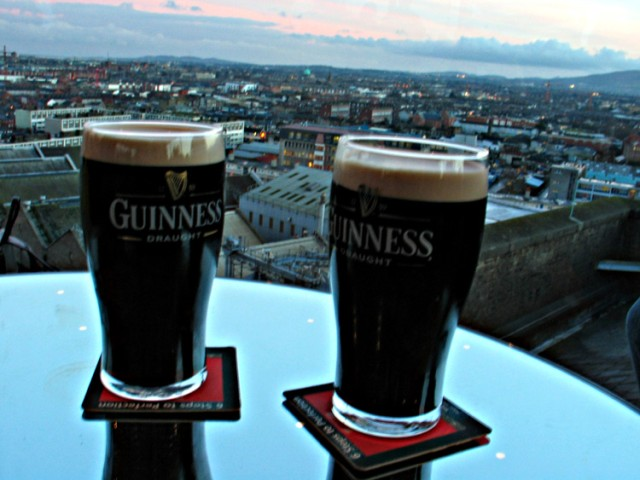 Depiction of Guinness
