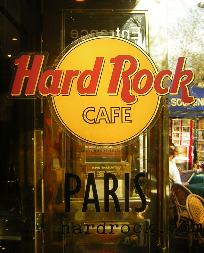 Hard Rock Cafe Temple Bar Menu