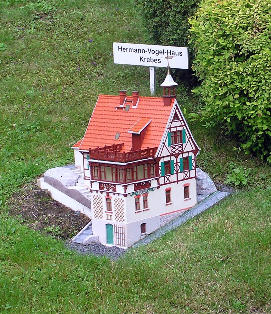 file hermann vogel haus krebes miniatur jpg wikimedia commons. Black Bedroom Furniture Sets. Home Design Ideas