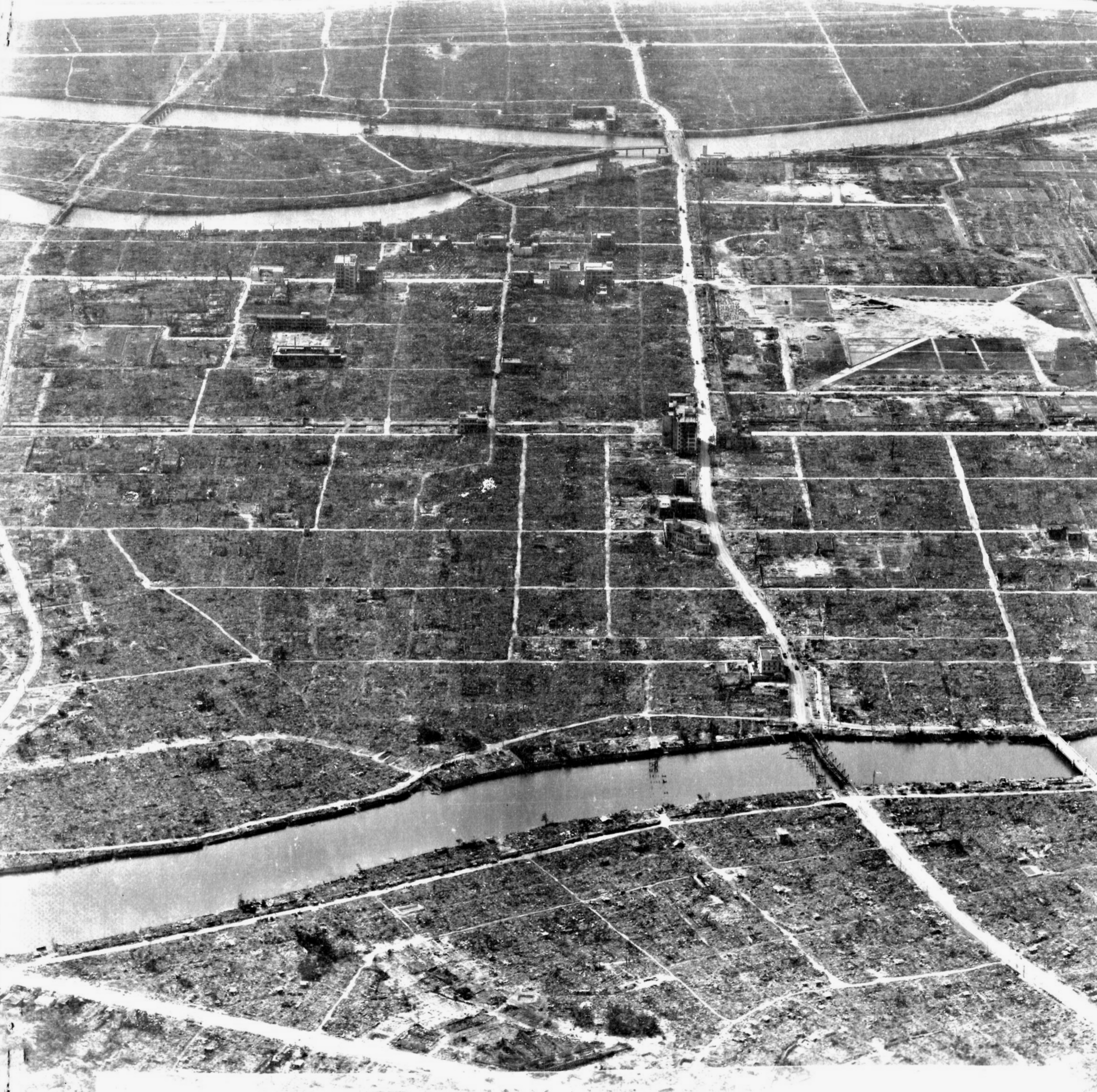 Why the atomic bombs of hiroshima
