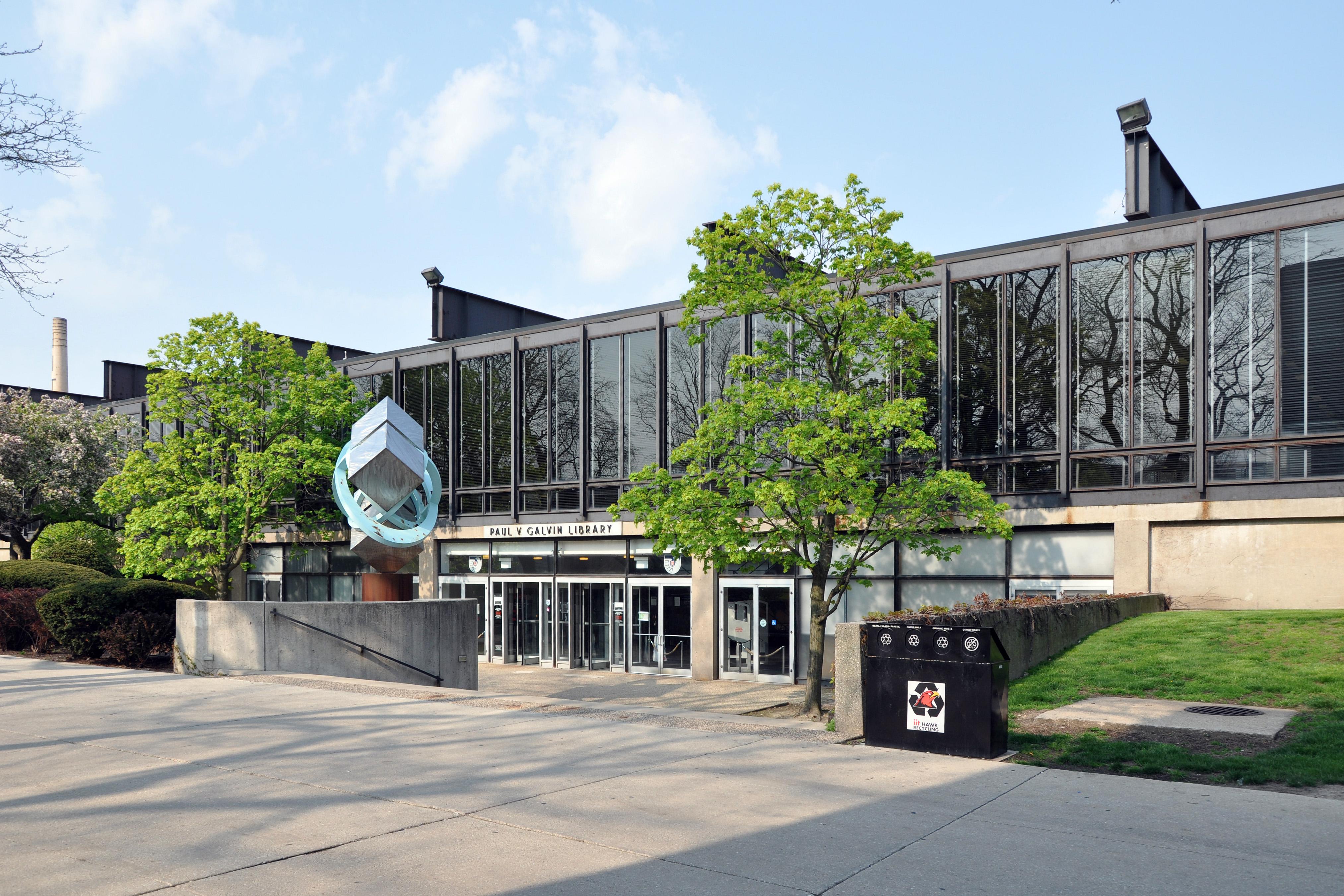 Resultado de imagen de iit library architecture mies
